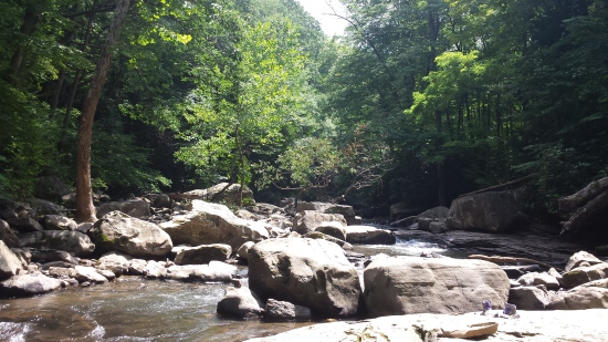 peaceful ohiopyle